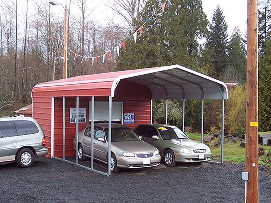 metal buildings and carports from All Steel NW Belfair Washington