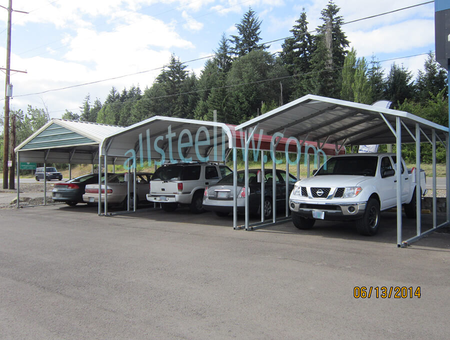 All Steel NW Metal Carports Product C-10