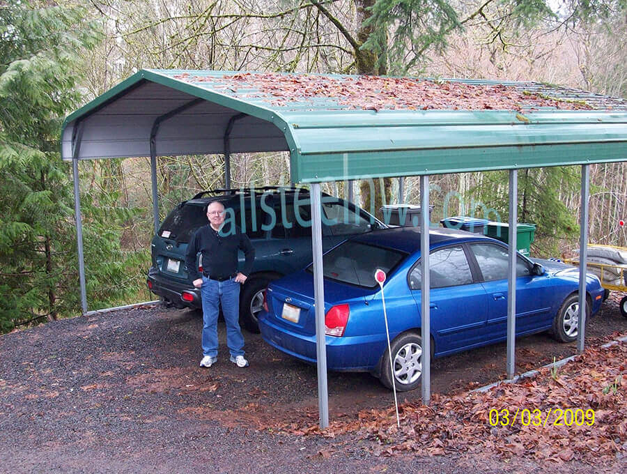 All Steel NW Metal Carports Product C-2