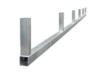 All Steel NW Metal Base rail