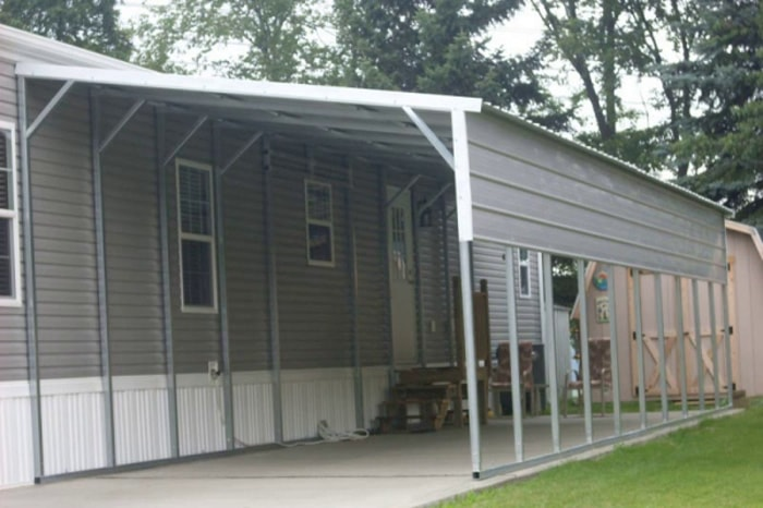 Metal Carport Lean To Shed : Gallery all steel northwest