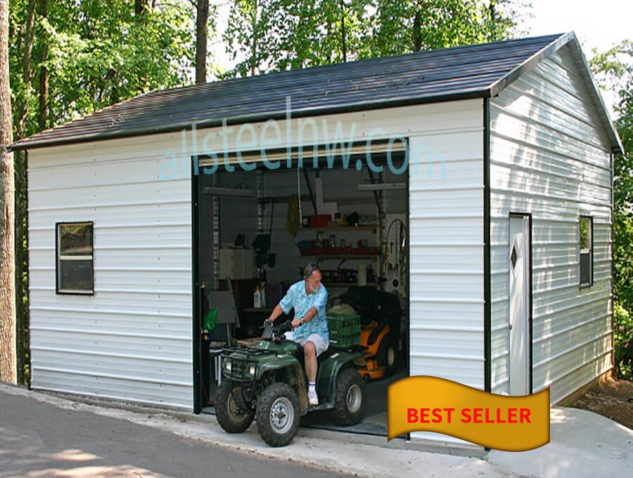 All Steel Northwest Metal Garage Buildings Amp Carports In