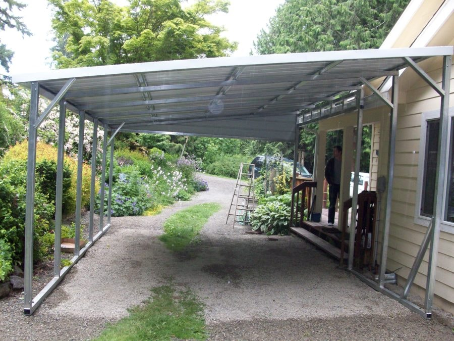 Lean-To Carports - All Steel Northwest