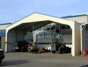 free span metal buildings from All Steel Northwest Belfair Washington