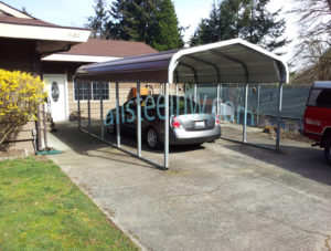Metal carports Portland from all Steel Northwest