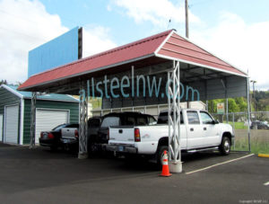 Lean To Carports Images All Steel Northwest