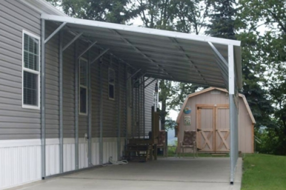 Rv Lean To Carport : Lean to carports all steel northwest
