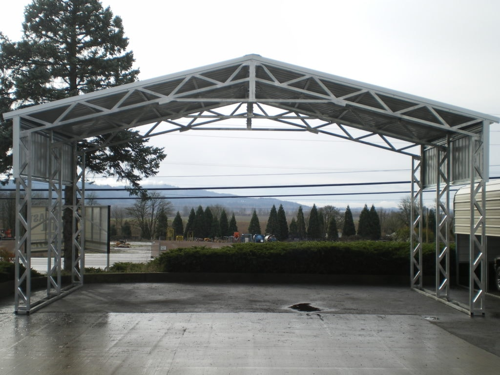 Free span all steel northwest for Versatile sheds prices