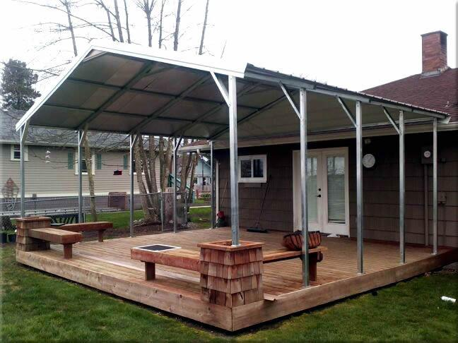 Metal Carports - the Seattle Area best solution for protecting your assets 3