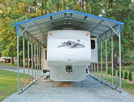 Metal RV Covers Seattle Tacoma Portland and beyond
