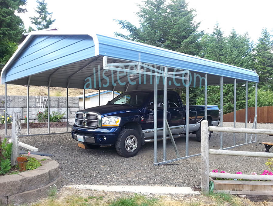 All Metal Carport : All steel northwest