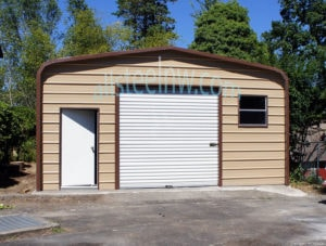 Metal garages Portland from all Steel Northwest
