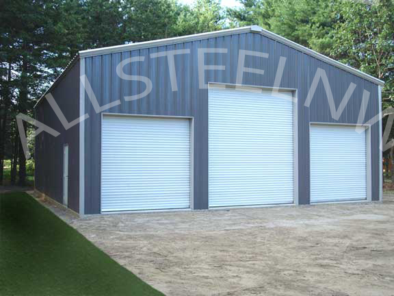 Finishedgaragea all steel northwest for Appoggiarsi all aggiunta al garage
