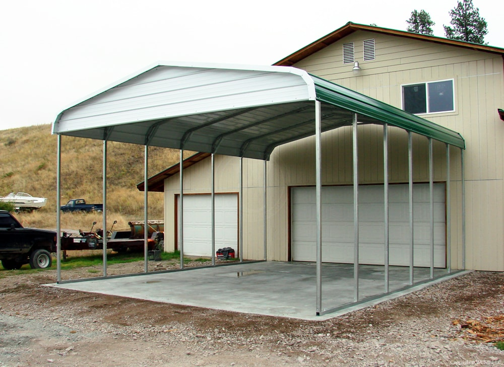 Residental metal buildings all steel northwest for All metal houses