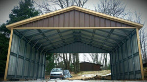 Metal carports all steel nw belfair washington