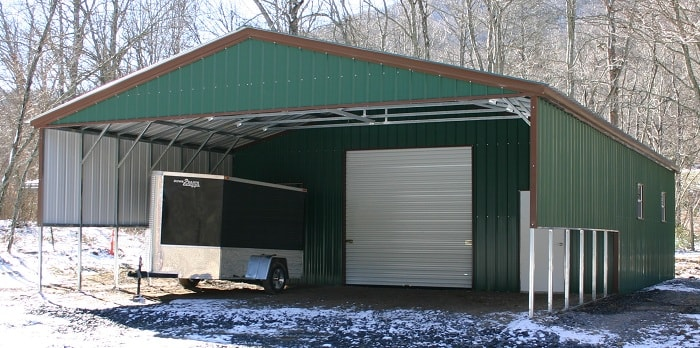 Triple Wide Carports All Steel Northwest